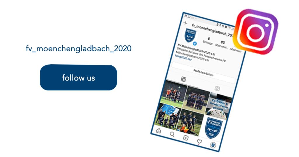 FV Mönchengladbach 2020 - jetzt auch auf Instagram -