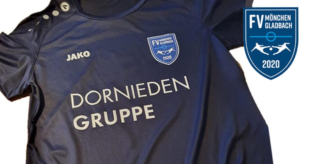 Erste Trikots Dornieden FV Mönchengladbach 2020 e.V.
